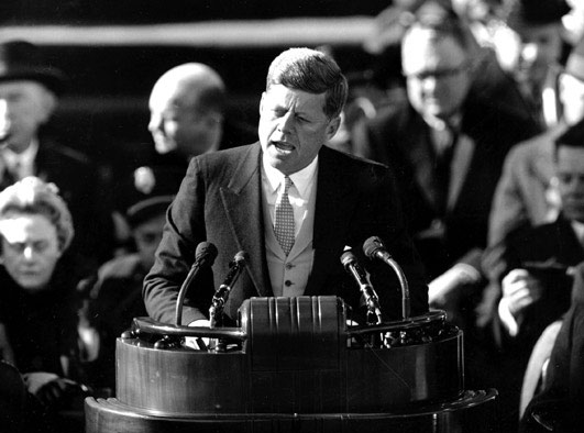 john f kennedy inauguration speech 1961 washington dc
