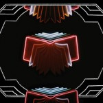 Neon bible illustration.
