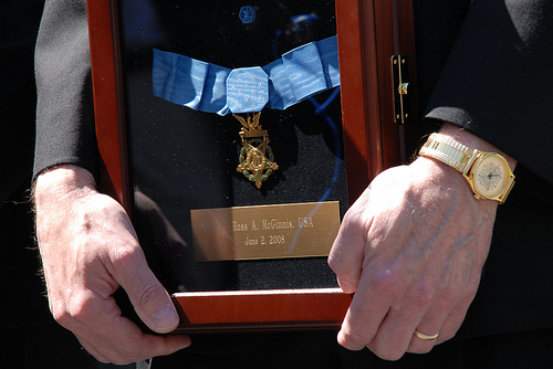 medal of honor ross mcginnis 2008 close up photo