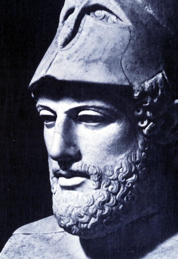 pericles funeral oration 431 bc marble bust