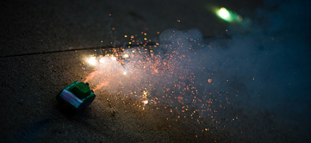 miniature tank firework