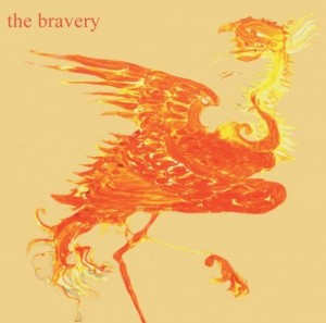 Album cover, the bravery illustration.
