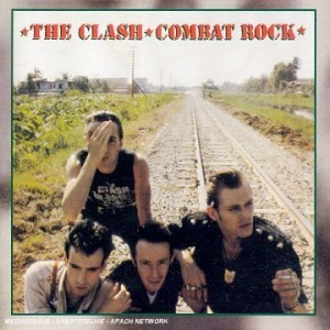 Album cover, the clash combat rock.