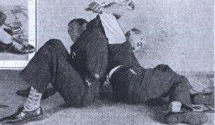Vintage back wrestling.