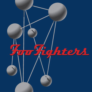 Album cover of fou fighters illustrations.