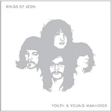 Album cover, kings of leon about youth and manhood illustration.