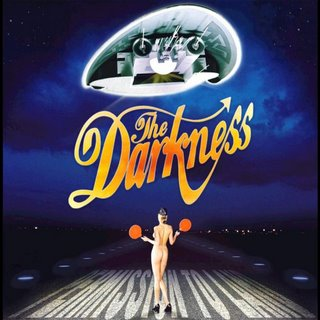 Album cover, the darkness.