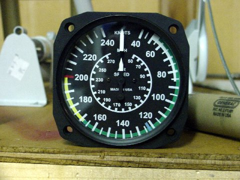 airplane airspeed indicator individual part