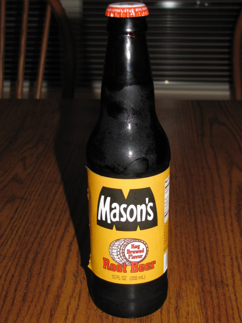 mason's root beer review bottle craft soda