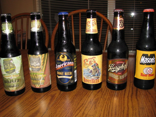 root beer reviews variety of root beer
