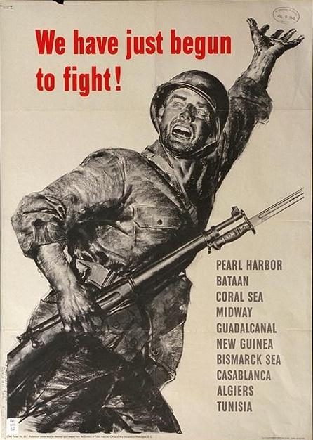 world war ii propogranda poster recruitment ad