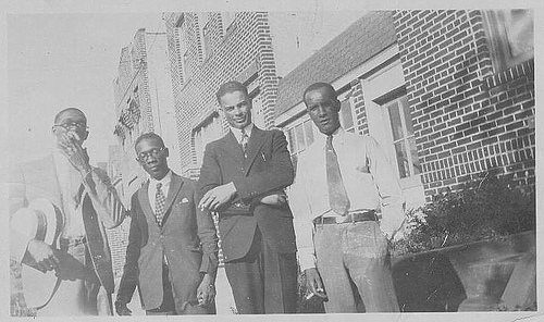 vintage african american friends suits 1930s 1940s