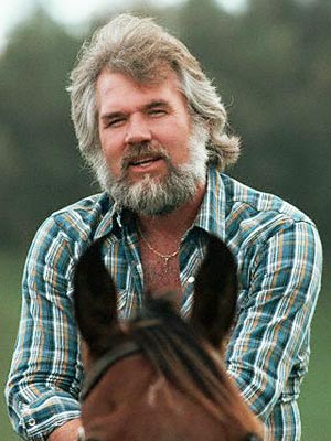 kenny rogers on horseback beard famous facial hair
