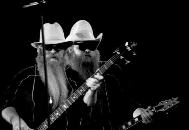 zz top billy gibbons dusty hill beards