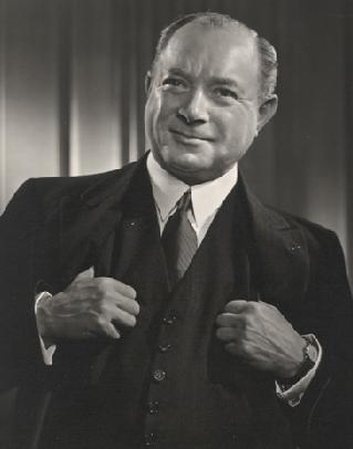 David Sarnoff portrait.