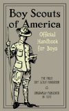 Book cover, boy scouts of america by Lord Baden.
