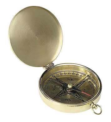 Old compass needle.
