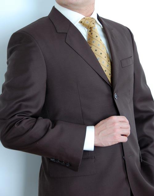 Man wearing suit portrait.
