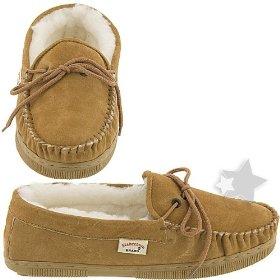 Pair of brown footwear.