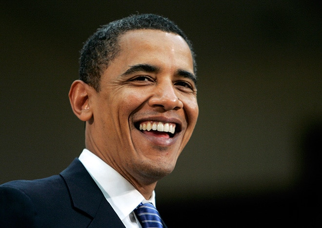 barack obama president smiling self made men