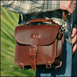 Saddleback Leather Man Bag | The Art of Manliness