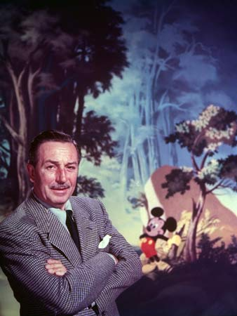 walt disney color portrait mickey mouse backdrop