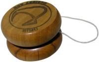 wooden yoyo.