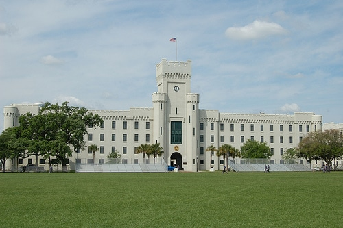 Padgett-Thomas barracks at The Citadel