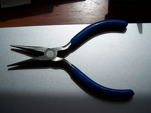 needle nose pliers tools toolbox every man