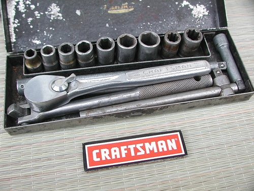 craftsman socket wrench set ratchet
