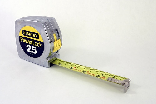 stanley 25 foot tape measure