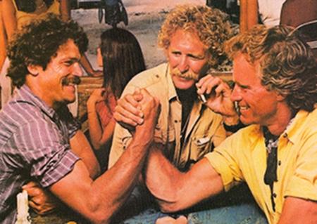 vintage arm wrestling ad 1987 camel cigarettes