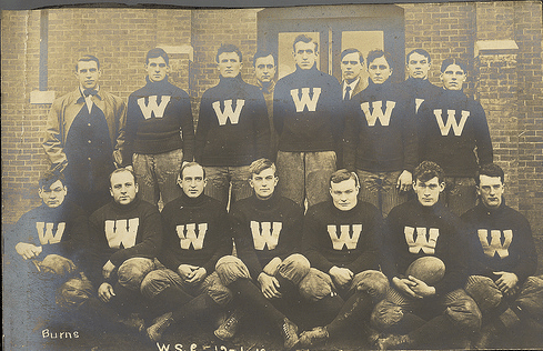 vintage team sports photo late early 1900s