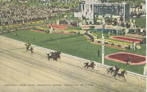 Vintage Kentucky Derby 10