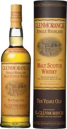 Glenmorangie malt scotch whisky.
