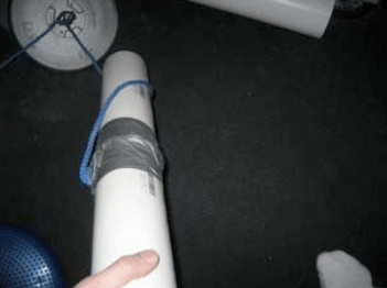 duct tape grip pvc pipe homemade workout equipment