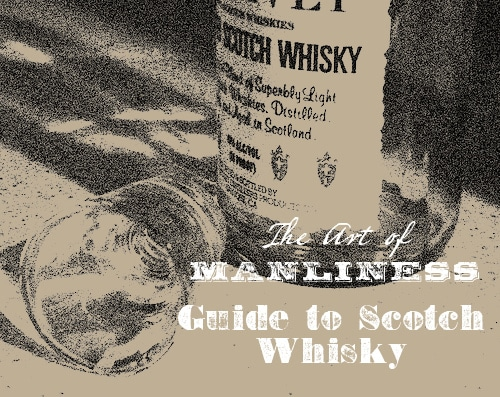 scotch whisky guide art of manliness illustration