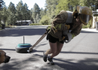 diy homemade pulling sled fireman workout fitness