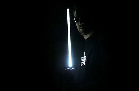 blade runner umbrella led shaft light saber
