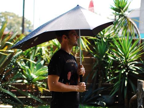 Senz umbrella modern gentleman's accessory.