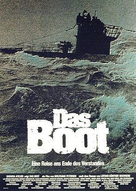 Das Boot movie poster.