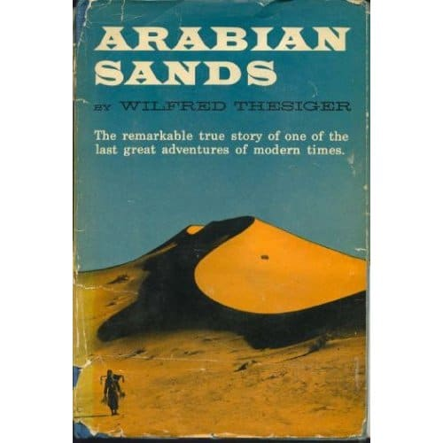Book cover of an Arabian Sands by Wilfred Thesiger.