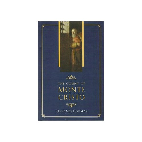 Book cover of The Count of Monte Cristo by Alexandre Dumas.