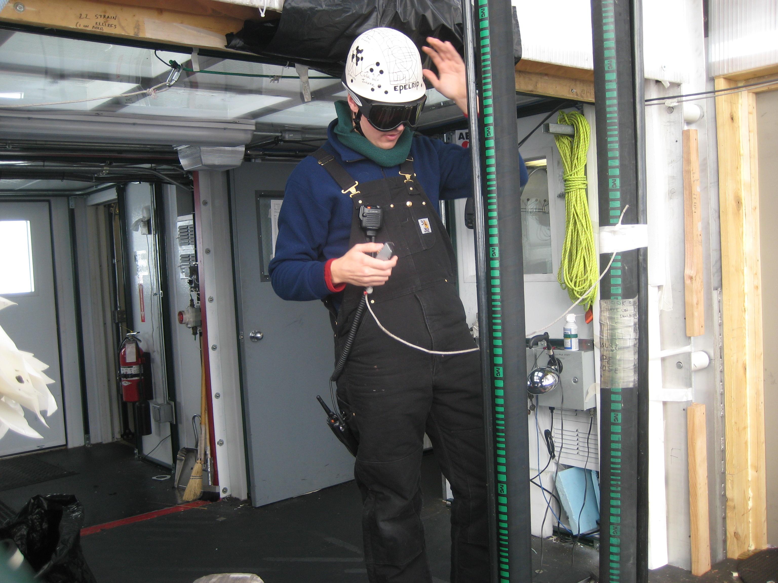 Steve Faulkner antarctic diller and researcher.