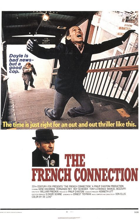 The French Connection movie cover.