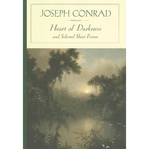 Book cover of Heart Of Darkness by Joseph Conrad.