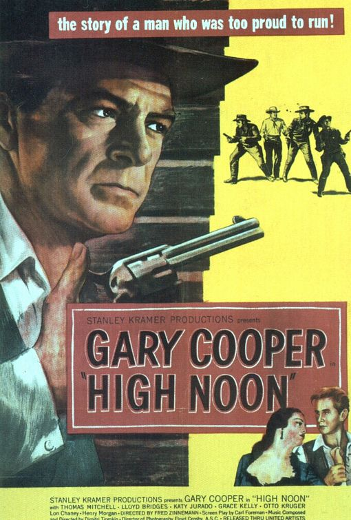 High Noon movie movie poster.