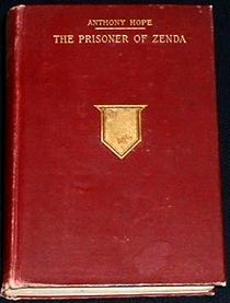 Book cover of The prisoner of zenda by Anthony Hope.