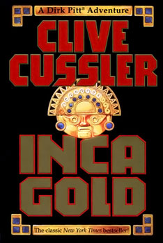 Book cover of Inca Gold by Clive Cussler.