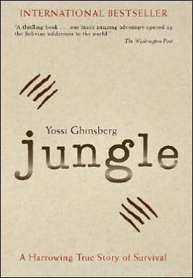 Book cover of Jungle by Yossi Ghinsberg.